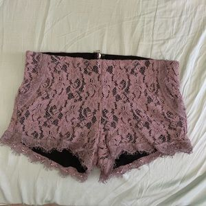 Wilfred Lace Lavender Shorts